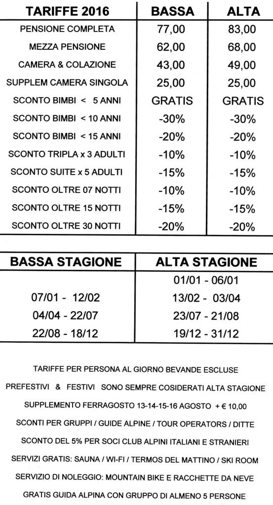 Prezzi 2016 ITA x SITO