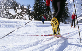Cross-country skiing and winter sports